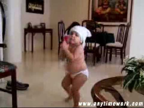 Cute young baby sexy shakira hip dance gangnam style exlusive...