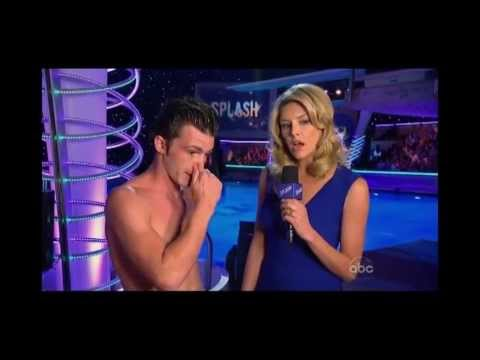 Drake Bell Loses It on ABC's Splash.
