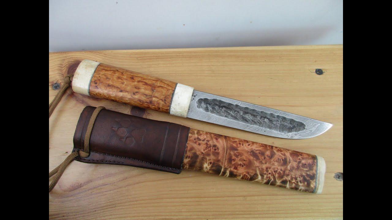Ножны на якутский нож своими руками