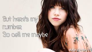 download lagu Carly Rae Jepsen - Call Me Maybe  Lyrics gratis