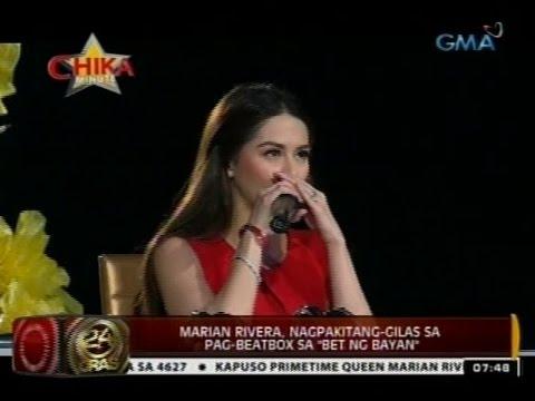 24oras: Marian Rivera, Nagpakitang-gilas Sa Pag-beatbox Sa bet Ng Bayan video