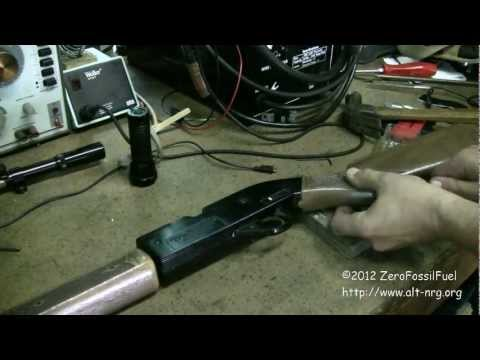#311 Crosman 760 air rifle high power mod tutorial