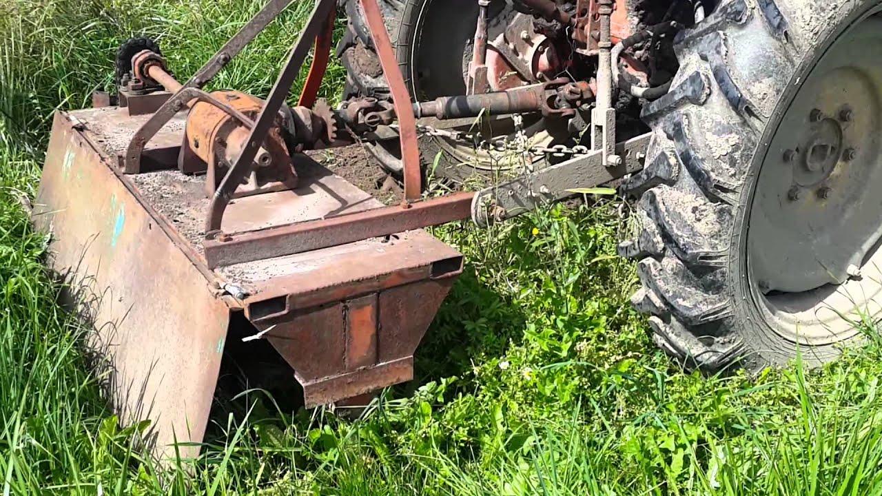 Фреза для трактора т 25 своими руками 93