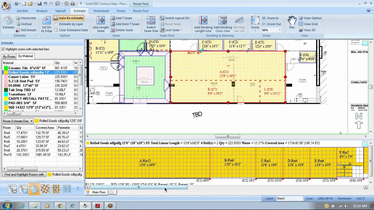 Floor Estimate Pro Floor Estimating Software
