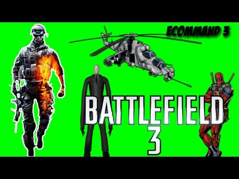 Battlefield 3 - Slender | Like a boss | Deadpool | Helicóptero