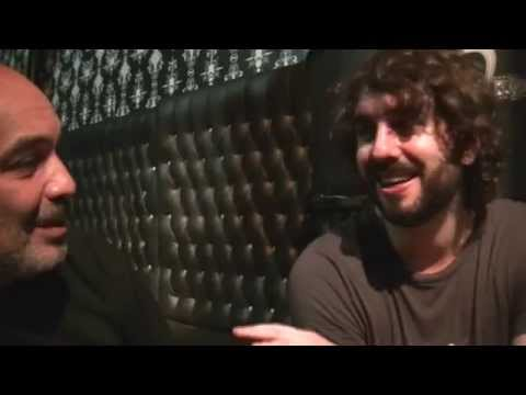 Mikel Izal - Nota post show en el Roxy bar (Buenos Aires-Argentina)