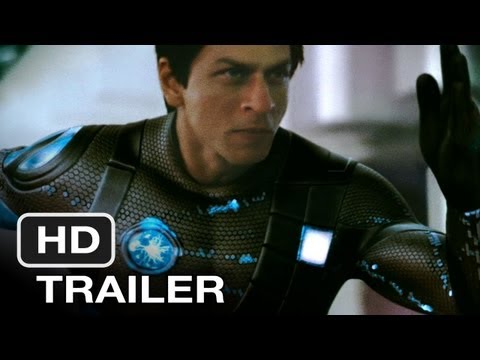 Ra.one - Movie Trailer (2010) Hd video