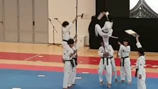 Taekwondo Flash Kukkiwon Demo Team June 2019