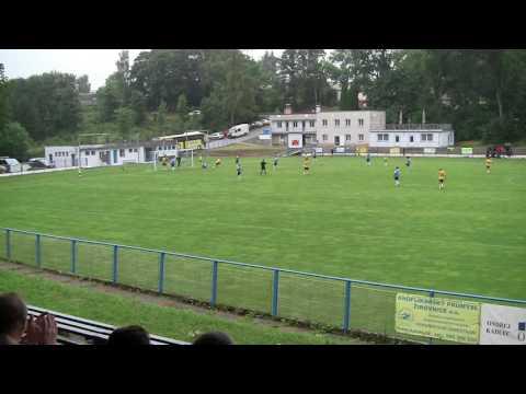 Sestřih přípravného utkání proti Táborsku B (13.7.2016)