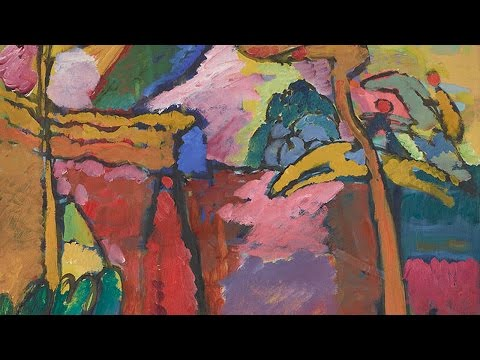 Lessons from Delacroix with Christopher Riopelle | Wassily Kandinsky | The National Gallery, London