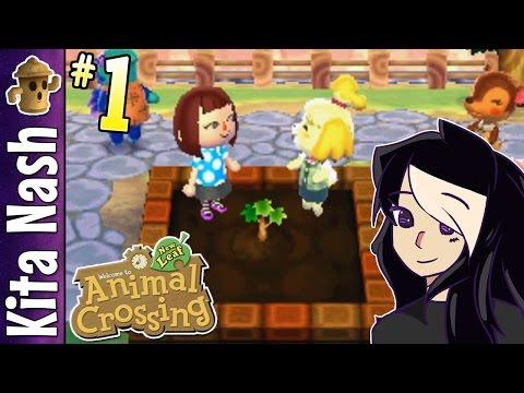 Animal Crossing New Leaf Gameplay PART 1: MAYOR KITA  Let's Play Walkthrough