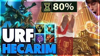 HELICOPTER HECARIM (YOU WONT BELIEVE THIS DAMAGE) | URF HECARIM FULL GAMEPLAY - BunnyFuFuu