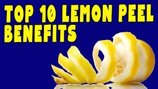 LEMON PEEL BENEFITS & SIDE EFFECTS - Tea of the Day #98