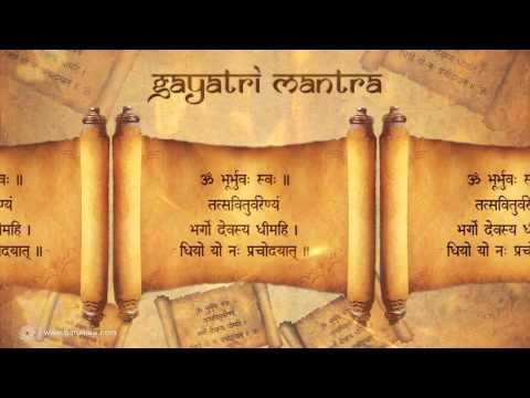 Gayatri Mantra Chanting 540 Times | Gayatri Mantra by Anandmurti...