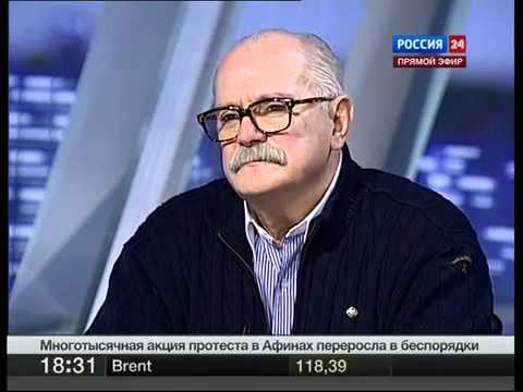 Дебаты 2012: Прохоров (Прохорова) - Путин (Михалков), 13.02.2012
