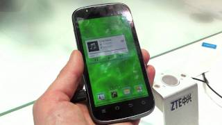 ZTE Mimosa X hands-on @ MWC 2012 - DDay.it