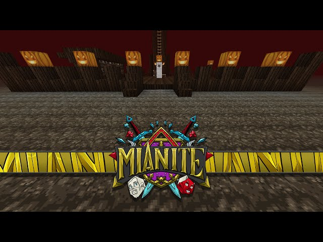 Minecraft: Mianite - SECRET NETHER BASE! [83]
