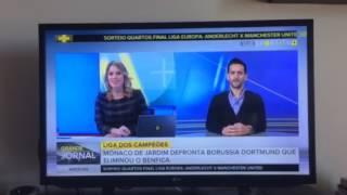 Opinião na SPORT TV - Comentário ao sorteio da Champions do jogo MONACO vs Dortmund e Comentário acerca de Leonardo Jardim e Bernardo Silva