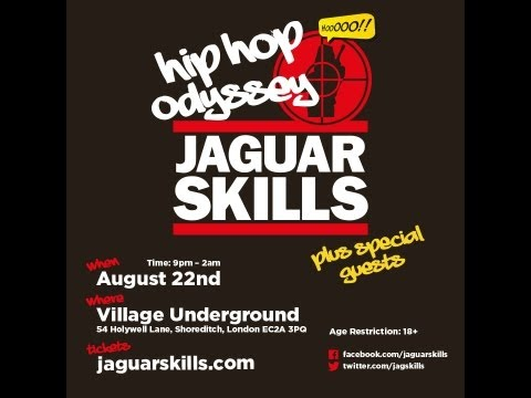 Jaguar Skills: 300 Hip Hop Tracks In 3 Hours video
