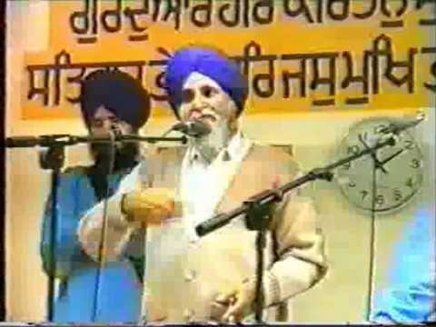 Dhadi Daya Singh Dilbar 1994. FULL parsang