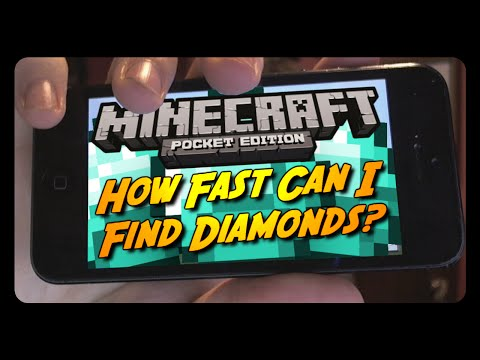 DIAMOND CHALLENGE in MINECRAFT POCKET EDITION 0.10.4