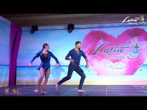 TALAL & EDYTA SHOW  - LEBANON LATIN FESTIVAL 2018
