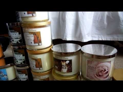 Requested: Candle Porn - See My Bath & Body Works Candle Stash! video