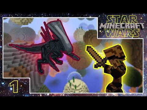 Minecraft Star Wars - Aliens e Planetas! - Ep.1