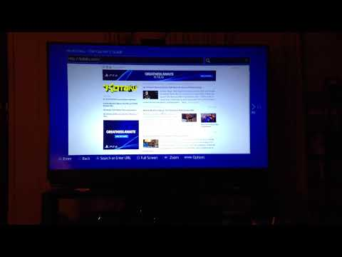 Playstation 4 Internet Browser
