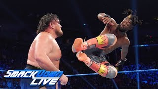 Kofi Kingston vs. Samoa Joe: SmackDown LIVE, July 23, 2019
