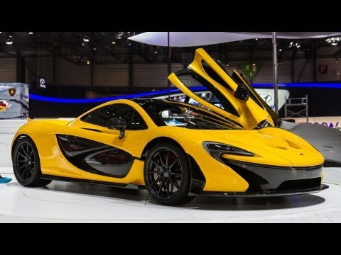 EXCLUSIVE: Yellow McLaren P1 - Geneva 2013
