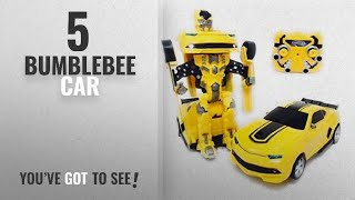 Top 10 Bumblebee Car [2018]: QVM Toy Transforming Car to Robot with USB Rechargeable Batteries and