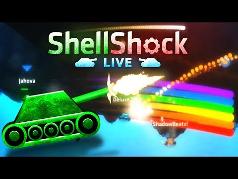 EPIC FUN GAMING ( Shell Shock Live ) Ep1 Ft: TheSirRolfe Game Play