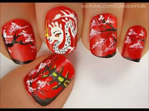 0 China Nails Art by LuvableNails