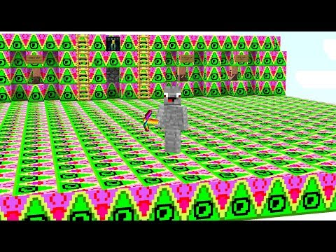 die ganze Base besteht aus Illuminati Blöcken.. Minecraft LUCKY BLOCK BEDWARS