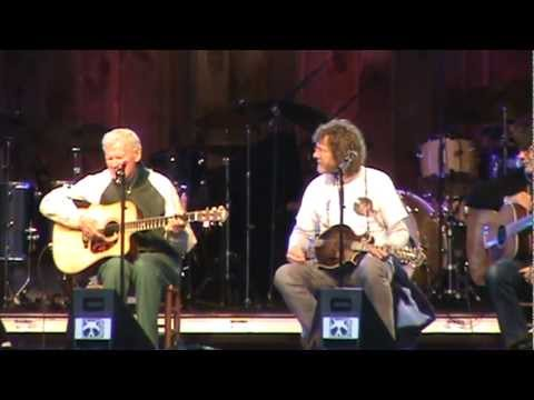 Doc Watson and Friends- Cannonball Train- Merlefest 2012.mpg
