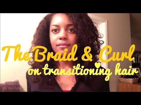 {11} The Braid & Curl on Transitioning Hair