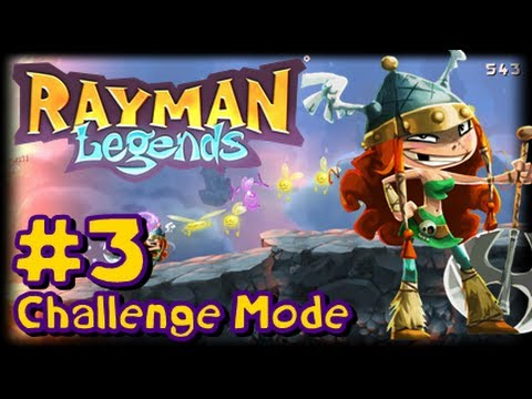 Rayman Legends Wii U - Challenge Mode App - Part 3 - The Neverending Pit