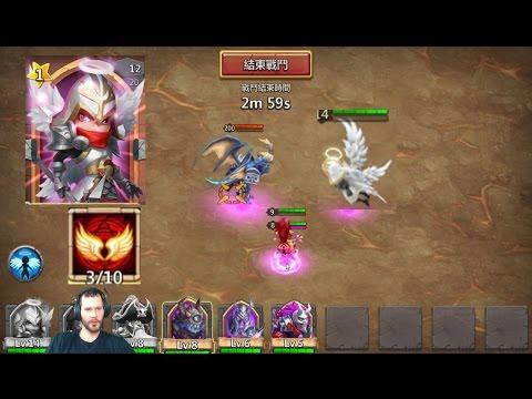 Michael Archangel NEW Hero VS Archdemon + Dungeons Castle Clash