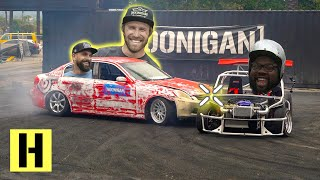 Tandems at Work?? G35 and ShartKart Hoonigan Team Bonding Experience at the Burnyard