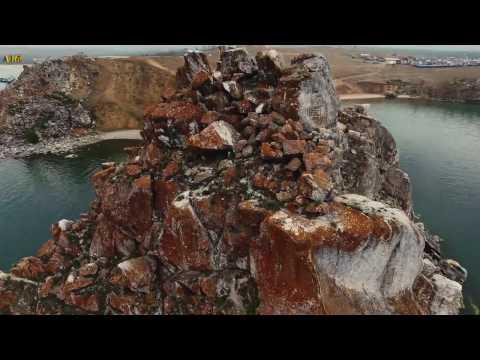 Полеты над озером БАЙКАЛ Съёмки с квадрокоптера 4К видео 4K UHD