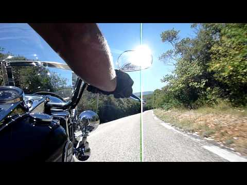 viens faire un petit tour sur ma road king Video