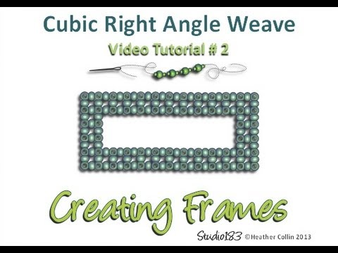 Right Angle Weave Cubic Right Angle Weave How