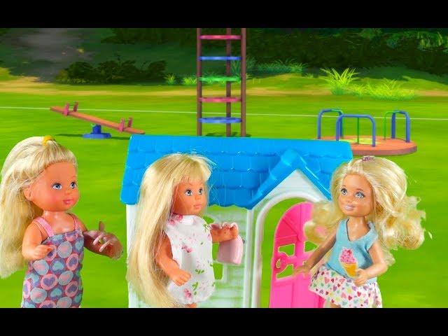 Rodzinka Barbie - Ucieczka bliźniaczek. Bajka dla dzieci po polsku. The sims 4.Odc. 59
