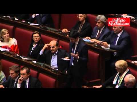 """Fiducia Governo, Speranza (PD) cita Aldo Moro: """"Il PD farà la sua parte"""" (29/04/2013)"""
