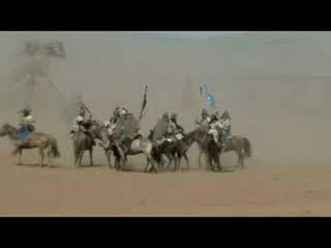 Mongolian Horse Riders