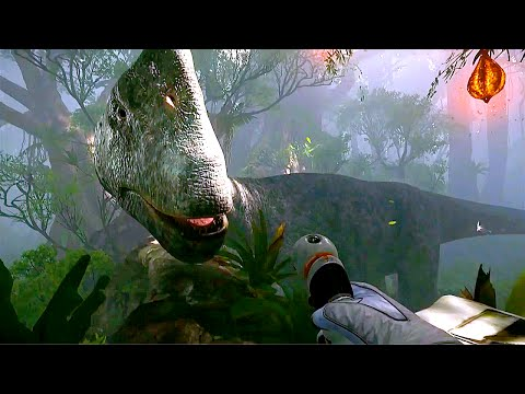 Robinson The Journey VR Gameplay PS4 (E3 2016)