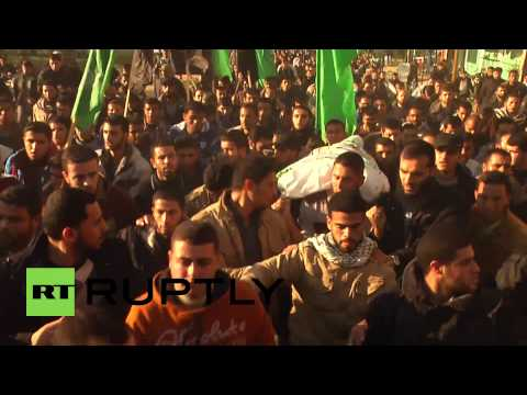 State of Palestine: Hundreds mourn Hamas fighter killed by Israeli forces