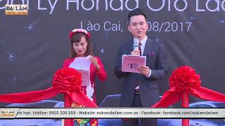MC Hạnh Phúc - khai trương Honda Lào Cai by Sự kiện Đại Lâm