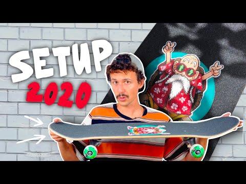 Skateboard Setup Jonny Giger 2020